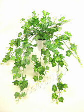 Potted Artificial Silk Green Ivy Trailing Plant ~ Conservatory / House Plant