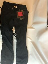 PWDR Room Snowboard Pants Insulated Classic Fit Black Womens XS NEW Ski