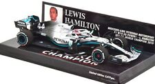MERCEDES W10 LEWIS HAMILTON GP USA 2019 WORLD CHAMPION FORMULA 1 2019 scala 1/43