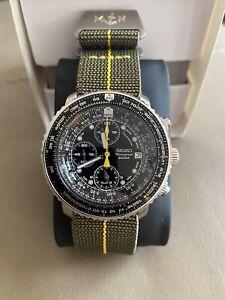Seiko Flightmaster SNA411 Chronograph