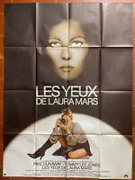Plakat Les Augen Laura Mars Irvin Kershner Faye Dunaway T.Lee Jones 120x160cm