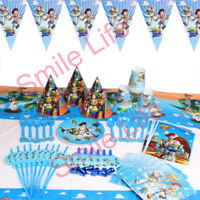 Toy Story 3 Birthday Party Kids Decoration Plates Tablecloth Napkins Balloon