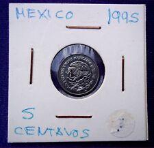 MONEDAS DEL MUNDO Mejico 1995 5 Centavos