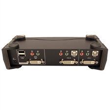 ATEN CS1762A KVM Switch DVI, USB, Audio, USB-Hub, 2 Ports