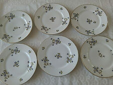 6 assiettes à dessert  Porcelaine de LIMOGES  Lot 2/3