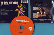 Mountain The -CD- Live At The Ritz Theater New York 1985 - CD v 2004 - Neuwertig