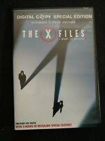 The X-Files: I Want to Believe (DVD, 2008, 3-Disc Set, Ultimate X-Phile Edition…
