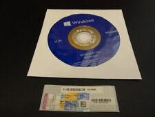 Windows 8.1 pro 64 bits DVD versión completa + win 8.1 pro coa activación Key