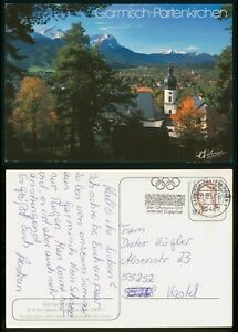 MayfairStamps Germany 1993 Garmisch-Partenkirchen Post Card wwp80009