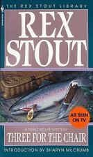 Three for the Chair (Nero Wolfe) by Stout, Rex
