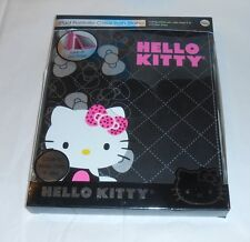 Hello Kitty by Sanrio iPad Portfolio Case with Stand Black NEW
