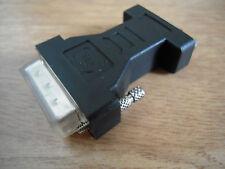 DVI-I Dual Maschio a VGA Dongle-Adattatore Donna