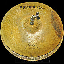 "Istanbul Agop Turk Hi Hat Cymbals 15"" 1114/1205 grams - VIDEO - TH15"