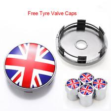 4pcs 60mm England UK United Kingdom Flag Emblem Car Truck Wheel Center Hub Caps