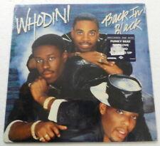 WHODINI Back in Black LP ARISTA/JIVE rap/hip hop SEALED #3002