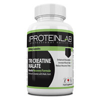 Tri Creatine Malate Nitric Oxide Booster Energy Increase Muscle Size Anabolic