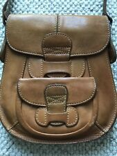 VINTAGE Borsa da Sella Tan Brown