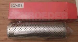New Schroeder CC3 / 9C3 Hydraulic Filter Element