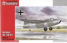 Special Hobby Heinkel He 178 V-1 in 1/72 321 ST
