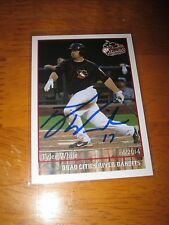 TYLER WHITE Signed 2014 Quad Cities River Bandits Team Set Card AUTO Autograph