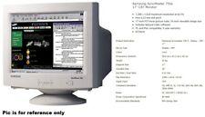 Vintage Samsung SyncMaster 750s CRT VGA Old Computer Monitor // Tested!