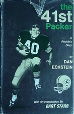DAN ECKSTEIN (GREEN BAY PACKERS) 1970 BOOK (PRESBYTERIAN COLLEGE, CFL ***SIGNED*