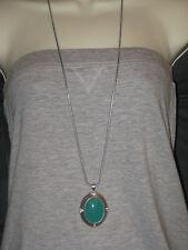 Teal Stone- Rv $78 Gorgeous Color Nwt Lia Sophia Verge Necklace -Pretty