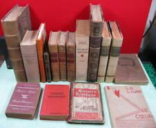 bon lot de 16  Livre ancien divers Éditions, XVIII, XIX & XXème, A VOIR AFFAIRE