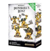 Ironskull's Boyz Ironjawz Underworlds Warhammer AOS NIB