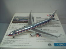 """Herpa Wings 500 American Airlines AA B767-300ERWL """"2004s color"""" 1:500 NG"""