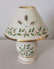 Lenox Ceramic Festive Holiday Tea Light Lamp