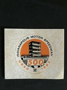 1967 United States Auto Club Indianapolis Motor Speedway 500 Mile Race Official