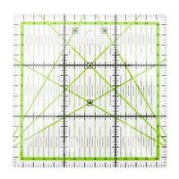 #QZO Square Patchwork Feet Tailor Yardstick Cloth Cutting Rulers DIY Sewing Tool