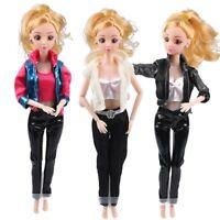 1 Set muñeca vestido camisa chaqueta Pantalones aptos para muñeca Barbie
