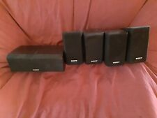 Set Of 5 Sony SS-CNP2 Center SS-MSP2 Surround Sound Stereo Speakers Complete Set