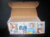 (500) 1983 topps baseball cards lot w 13 all star players brett, nolan, carew