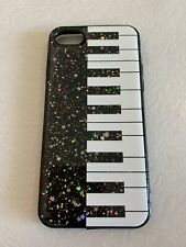 iPhone 7 FASHION DESIGNER Glitter PIANO CASE - NEW