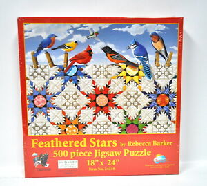 Feathered Stars Jigsaw Puzzle 500 Piece