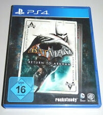 Batman: return to Arkham (PlayStation 4) ps4 alemán Arkham Asylum Arkham City