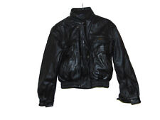 First Gear Hein Gericke Black Leather Jacket Small Men Motorcycle