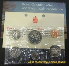 1977 UNCIRCULATED PROOF LIKE SET - CANADIAN 6-COIN SET - ENVELOPE & CERTIFICATE