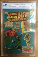 Justice League Of America #22 CBCS 3.0 1st JLA & JSA team up concludes OW/White