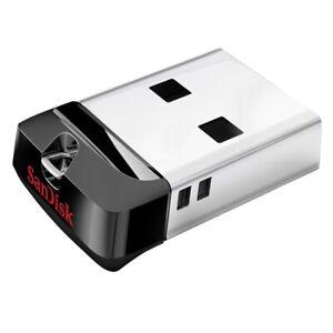 SanDisk 16GB  CRUZER FIT USB 2.0 Without Cap pen Drive Memory Stick Mini-UK
