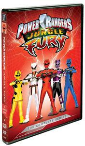 Power Rangers - Jungle Fury (The Complete Seri New DVD