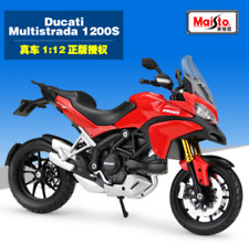 Maisto 1:12 Ducati Multistrada 1200S Motorcycle Bike Model Toy New in Box