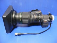 """Canon J9ax5.2VRS SX12  wide angle broadcast/ENG lens, 2/3"""" B4 with Crossover"""