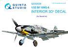 Quinta QD32029 1/32 Bf 109G-6 3D-Printed  coloured Interior for Revell kit