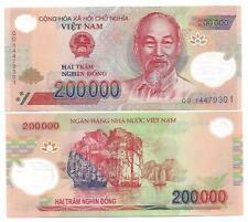 VIETNAM 200000 200.000 DONG POLYMER UNC 2014 P 123