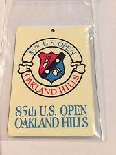 1985 US Open Oakland Hills Bag Tag