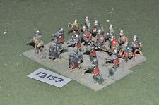 25mm medieval warriors 18 figures (13153)